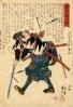 Гравюры с самураями_4